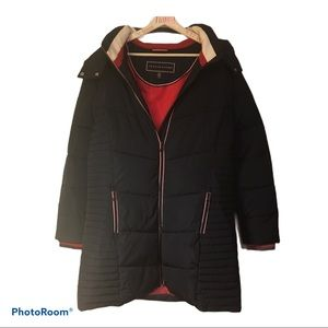 Tommy Hilfiger puffer style winter Parka, Xl large